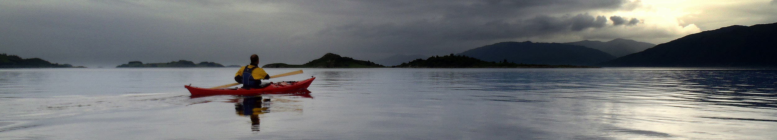 Join Oban Canoe Club. Image courtesy Andy Harpur